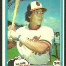 1981 Topps Baseball Card # 287 Baltimore Orioles Lenn Sakata nr mt