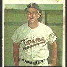 MINNESOTA TWINS SAM MELE 1964 TOPPS # 54 good