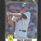 1987 Hostess Canada Baseball Card # 19 Boston Red Sox Wade Boggs