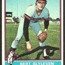1976 Topps Baseball Card # 235 Minnesota Twins Bert Blyleven vg
