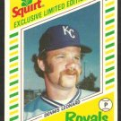KANSAS CITY ROYALS DENNIS LEONARD 1982 SQUIRT # 10 em/nm