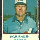 MONTREAL EXPOS BOB BAILEY 1975 HOSTESS # 55