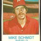 PHILADELPHIA PHILLIES MIKE SCHMIDT 1975 HOSTESS #133