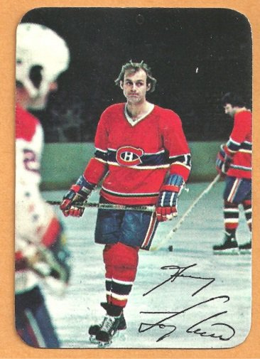 MONTREAL CANADIENS GUY LAFLEUR 1977 TOPPS INSERT # 7 EX