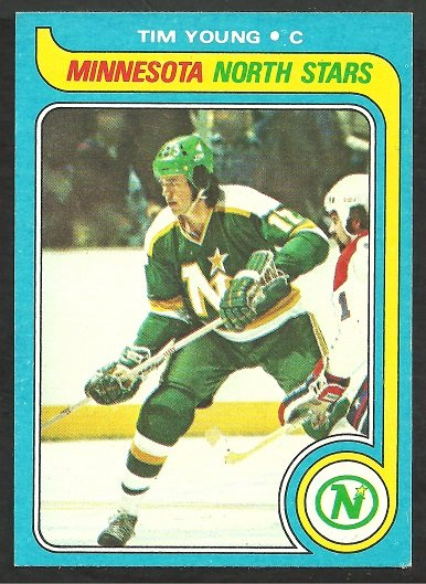 MINNESOTA NORTH STARS TIM YOUNG 1979 TOPPS # 36 ex/nm