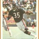 CHICAGO BEARS ROLAND HARPER 1981 MARKETCOM POSTER CARD #5