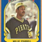 PITTSBURGH PIRATES WILLIE STARGELL 1981 FLEER STCKR CARD #15