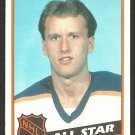 BUFFALO SABRES TOM BARRASSO ALL STAR 1984 TOPPS # 158 NM