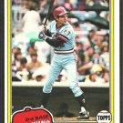Minnesota Twins John Castino 1981 Topps Baseball Card # 304 nm