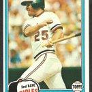 Baltimore Orioles Rich Dauer 1981 Topps Baseball Card # 314 nm