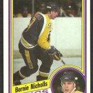 LOS ANGELES KINGS BERNIE NICHOLLS 1984 TOPPS # 67 NR MT