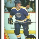 LOS ANGELES KINGS LUC ROBITAILLE ROOKIE CARD RC 1987 TOPPS # 42