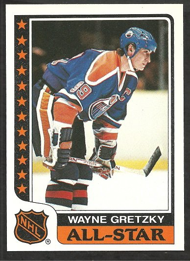 EDMONTON OILERS WAYNE GRETZKY 1986 TOPPS STICKER CARD # 3 NM
