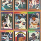 1989 Donruss Boston Red Sox Team Lot 28 Roger Clemens Wade Boggs Jim Rice Greenwell _