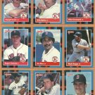 1988 Donruss Boston Red Sox Team Lot 21 Roger Clemens Wade Boggs Jim Rice Greenwell _