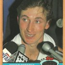 LOS ANGELES KINGS WAYNE GRETZKY 1991 TOPPS STADIUM CLUB # 1