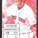 Los Angeles Angels Boston Red Sox 2015 Ticket Mike Napoli 2 HR Mookie Betts Hanley Ramirez