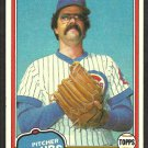 Chicago Cubs Dennis Lamp 1981 Topps Baseball Card # 331 nr mt