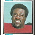 WASHINGTON REDSKINS LARRY BROWN 1973 TOPPS # 220 g/vg