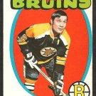 BOSTON BRUINS JOHNNY BUCYK 1971 OPC O PEE CHEE # 35 ex/em