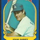 1981 FLEER STAR STICKER CARD # 1 LOS ANGELES DODGERS STEVE GARVEY