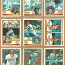 Minnesota Twins Team Lot 1983 Topps Frank Viola RC Kent Hrbek Gary Gaetti RC Billy Gardner Castino