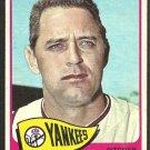 New York Yankees Pedro Ramos 1965 Topps Baseball Card # 13 vg