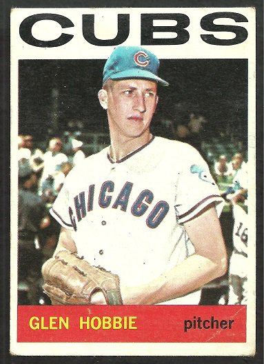 Chicago Cubs Glen Hobbie 1964 Topps Baseball Card # 578 vg