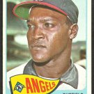 Los Angeles Angels Willie Smith 1965 Topps Baseball Card # 85 vg