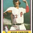 Philadelphia Phillies Steve Carlton 1976 Topps Baseball Card # 355 nr mt