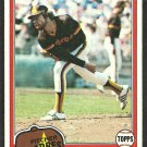 San Diego Padres Eric Rasmussen 1981 Topps Baseball Card # 342 nr mt