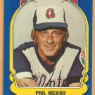 ATLANTA BRAVES PHIL NIEKRO 1981 FLEER STAR STICKER CARD # 23