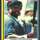 Minnesota Twins Kirby Puckett 1991 Post Cereal Baseball Card # 28