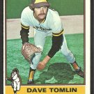San Diego Padres Dave Tomlin 1976 Topps Baseball Card # 398 ex