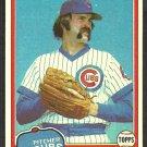 Chicago Cubs Dick Tidrow 1981 Topps Baseball Card # 352 nr mt