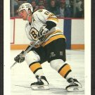 Boston Bruins Cam Neely 1992 Bowman Hockey Card # 62