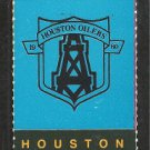 Houston Oilers Pittsburgh Steelers 1989 Full Ticket printers proof