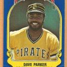 Pittsburgh Pirates Dave Parker 1981 Fleer Star Sticker Baseball Card # 24
