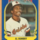 Baltimore Orioles Al Bumbry 1981 Fleer Star Sticker Baseball Card # 30