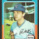 Kansas City Royals Freddie Patek 1975 Topps Baseball Card # 48 vg/ex