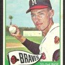 Milwaukee Braves Dennis Menke 1965 Topps Baseball Card # 327 vg/ex