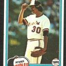 Baltimore Orioles Denny Martinez 1981 Topps Baseball Card # 367 nr mt