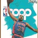 1995 Hoop Official NBA Program Detroit Pistons Grant Hill Boston Celtics Arena Edition