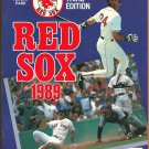 1989 Boston Red Sox Fenway Park Program vs Detroit Tigers Fred Lynn Ellis Burks Nick Esasky HR