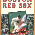 Boston Red Sox 1989 Ticket Brochure Fenway Park Envelope Roger Clemens Wade Boggs
