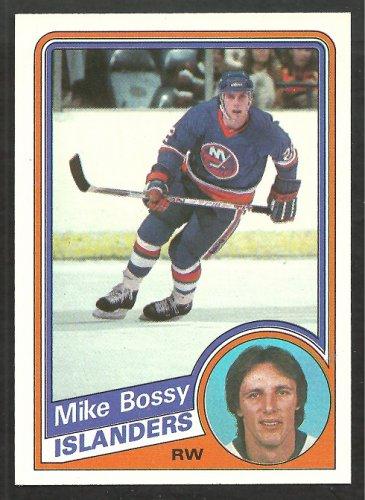 1984 Topps Hockey Card # 91 New York Islanders Mike Bossy nr mt