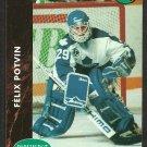 Toronto Maple Leafs Felix Potvin 1991 Parkhurst French Hockey Card # 398