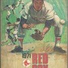 1971 Boston Red Sox Fenway Park Program Minnesota Twins Harmon Killebrew Carl Yastrzemski Rod Carew