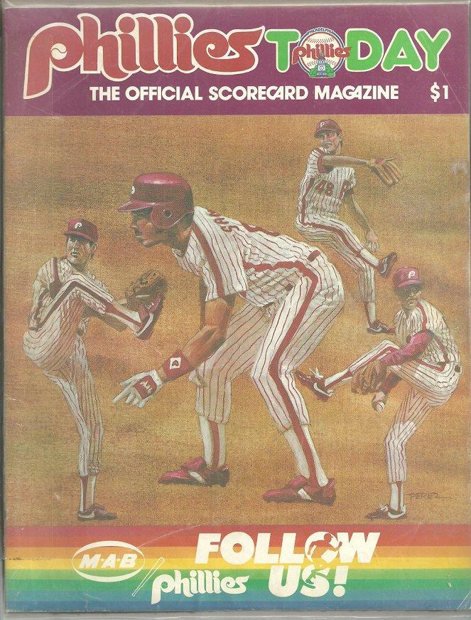 1985 Philadelphia Phillies  Program