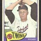 Minnesota Twins Dick Stigman 1965 Topps Baseball Card # 548 good